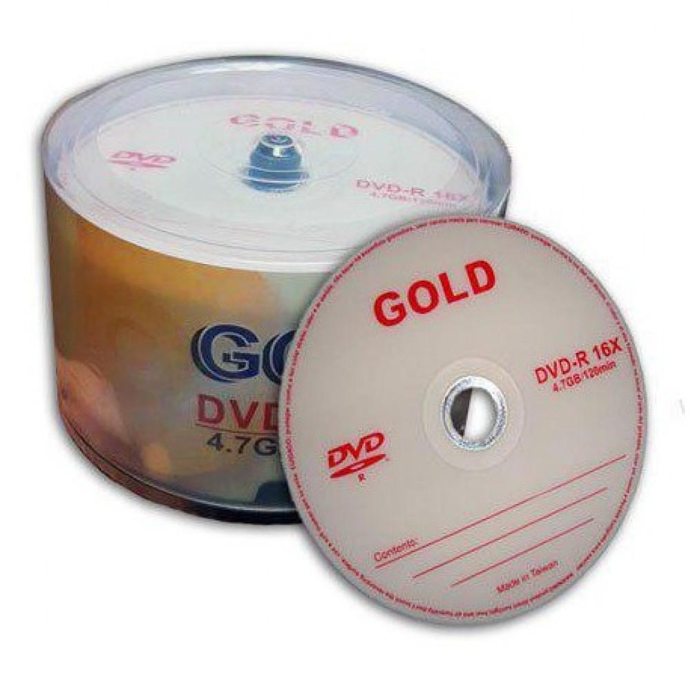دی وی دی خام 50 عدد Gold